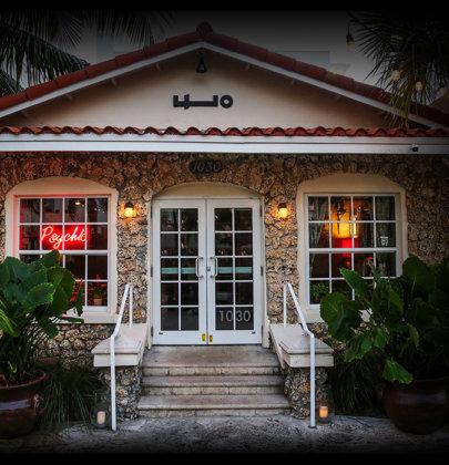 Un bar escondido en un hotel de Miami 🍸
