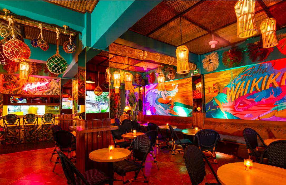 Waikiki Tiki Room, colonia roma, cultura tiki, ciudad de mexico, bares