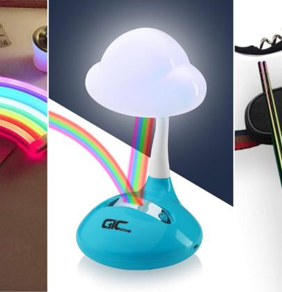 12 artículos de arcoíris que le darán color a la vida len esta cuarentena