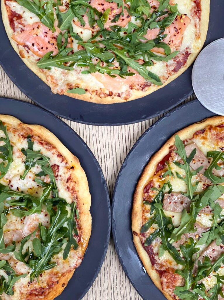 pizza de atun, pizza de camaron, jw marriott, cuaresma 2021