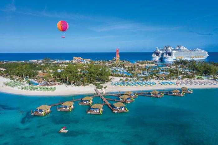 royal caribbean international, royal caribbean isla privada, donde esta la isla privada de royal, cococay bahamas