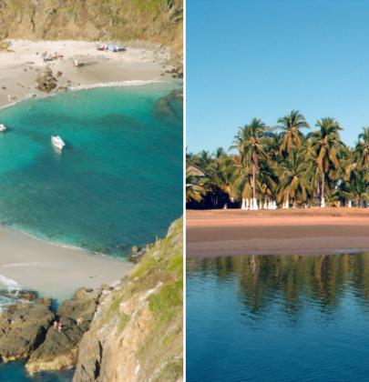 Un paraíso escondido en Jalisco: Costalegre tiene 40 playas poco exploradas