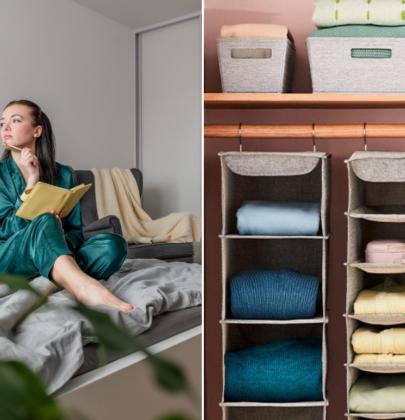 Triunfa en la organización de tu hogar con Squared Away de Bed Bath & Beyond