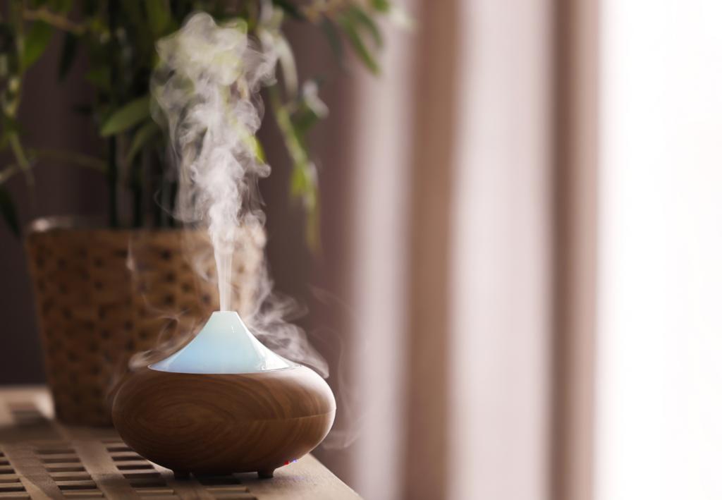 beneficios de la aromaterapia en área de trabajo